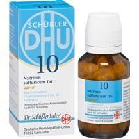Biochemie Dhu 10 Natrium Sulfuricum D6 Karto Tabletten