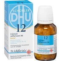 Biochemie Dhu 12 Calcium Sulfuricum D6 Karto Tabletten