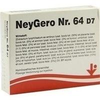 NEYGERO Nr.64 D 7 Ampullen