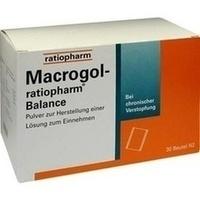 MACROGOL ratiopharm Balance Plv.z.H.e.L.z.Einn.**