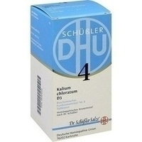 Biochemie Dhu 4 Kalium Chloratum D3 Tabletten