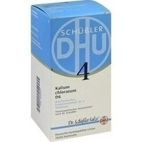 Biochemie Dhu 4 Kalium Chloratum D6 Tabletten