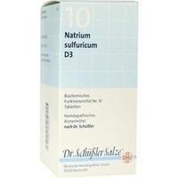 Biochemie Dhu 10 Natrium Sulfuricum D3 Tabletten