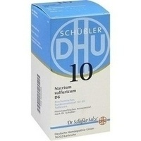 Biochemie Dhu 10 Natrium Sulfuricum D6 Tabletten