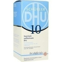 BIOCHEMIE DHU 10 Natrium sulfuricum D 12 Tabletten**