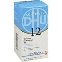 Biochemie Dhu 12 Calcium Sulfuricum D6 Tabletten