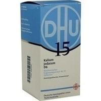 Biochemie Dhu 15 Kalium Jodatum D6 Tabletten