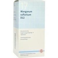 Biochemie Dhu 17 Manganum Sulfuricum D12 Tabletten