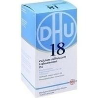 BIOCHEMIE DHU 18 Calcium sulfuratum D 6 Tabletten**