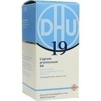 BIOCHEMIE DHU 19 Cuprum arsenicosum D 6 Tabletten**