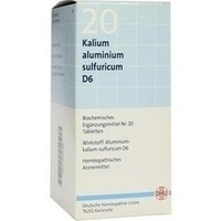 Biochemie Dhu 20 Kalium Aluminium Sulf. D6 Tabletten
