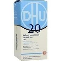 BIOCHEMIE DHU 20 Kalium alum.sulfur.D 12 Tabletten**