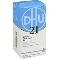 BIOCHEMIE DHU 21 Zincum chloratum D 6 Tabletten**