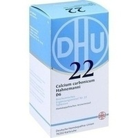 BIOCHEMIE DHU 22 Calcium carbonicum D 6 Tabletten**