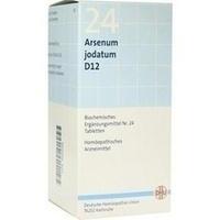 Biochemie Dhu 24 Arsenum Jodatum D12 Tabletten