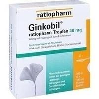 GINKOBIL-ratiopharm Tropfen 40 mg