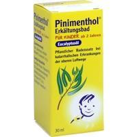 PINIMENTHOL Erkält.Bad f. Kinder ab 2 Jahren