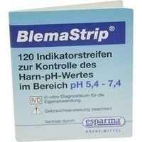 BLEMASTRIP pH 5,4-7,4 Teststreifen