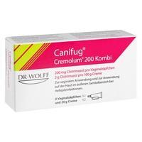 CANIFUG Cremolum 200 3 V.Supp.+20gCr. Kombipackung