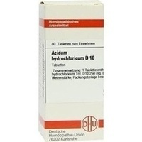 ACIDUM HYDROCHLORICUM D 10 Tabletten