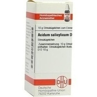 ACIDUM SALICYLICUM D 12 Globuli