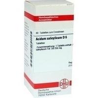 DHU ACIDUM SALICYLICUM D 6 Comprimés
