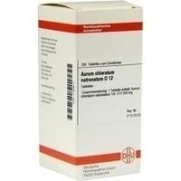 AURUM CHLORATUM NATRONATUM D 12 Tabletten