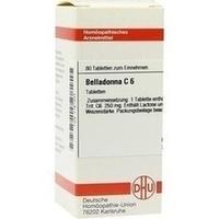 BELLADONNA C 6 Tabletten