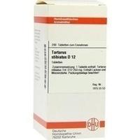 TARTARUS STIBIATUS D 12 Tabletten