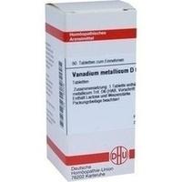 VANADIUM METALLICUM D 6 Tabletten