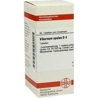 VIBURNUM OPULUS D 4 Tabletten