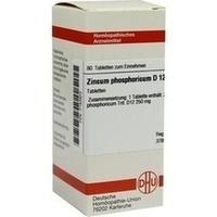 ZINCUM PHOSPHORICUM D 12 Tabletten