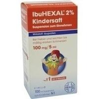 IBUHEXAL 2% Kindersaft Susp.z.Einnehmen
