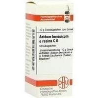ACIDUM BENZOICUM E Resina C 6 Globuli