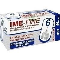 IME FINE Universal Pen Kanülen 31 G 6 mm