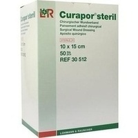 CURAPOR Wundverband steril chirurgisch 10x15 cm NICHT BENUTZEN !!!!