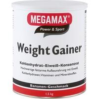 WEIGHT GAINER Megamax Banane Pulver