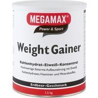 WEIGHT GAINER Megamax Erdbeere Pulver
