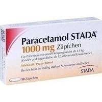 PARACETAMOL STADA 1.000 mg Zäpfchen
