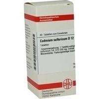 CADMIUM SULFURICUM D 12 Tabletten