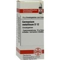 GERMANIUM metallicum D 12 Globuli