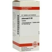 JABORANDI D 30 Tabletten