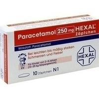 PARACETAMOL 250 mg HEXAL Zäpfchen