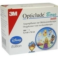 OPTICLUDE 3M Disney Pfl.Boys midi 2538MDPB-100