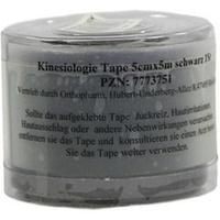 KINESIOLOGIE Tape 5 cmx5 m schwarz