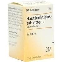Hautfunktionstabletten N Cosmochema Tabletten