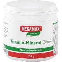 MEGAMAX Vita Mineral Drink Kirsche Pulver