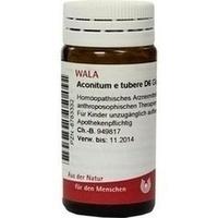 ACONITUM E tubere D 6 Globuli