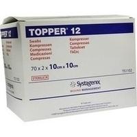 TOPPER 12 Kompr.10x10 cm steril