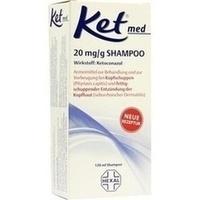 KET med 20 mg/g Shampoo